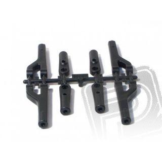Plastové díly horních ramen (seřizovatelných) 4ks