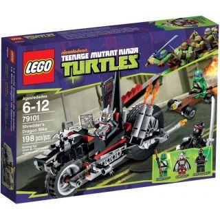 LEGO Ninja Turtles - Trhačova dračia motorka