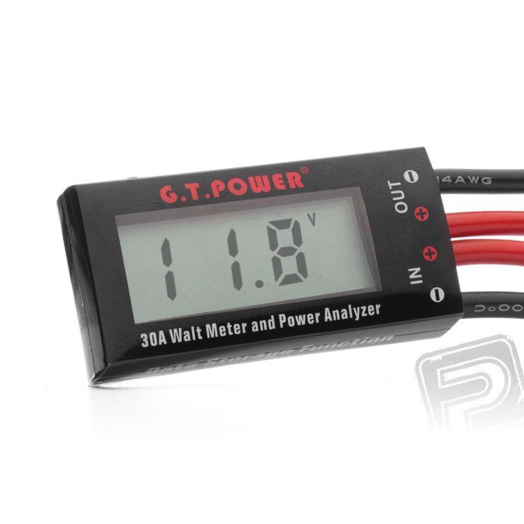 Wattmetr Mini 0-30A