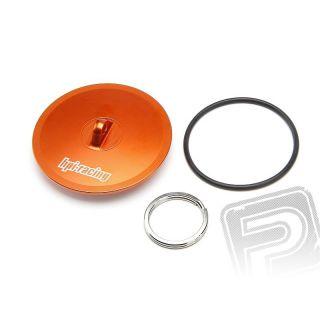 Alu viečko pre vzduchový filter (oranžový)