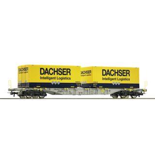 "ROCO Kontajnerový vagón ""Dachser"", AAE"