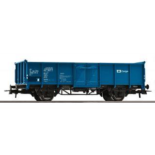Otvorený nákladný vagón, modrý, ČD