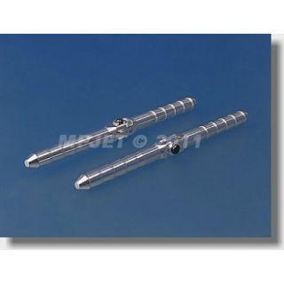 2552 Hmoždinkový závěs Al, 4,5x70mm rozebiratelný 2 ks