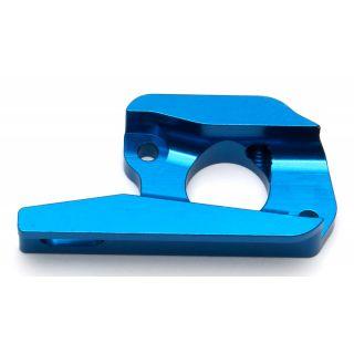 Hliníkový modrý držák motoru (vložka)