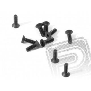 Šroub imbus se záp. hlavou M3x10mm , 10ks.