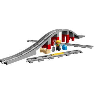 LEGO DUPLO - Doplňky k vláčku – most a koleje