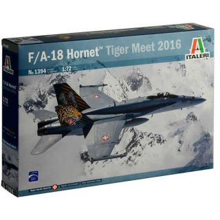 Model Kit letadlo 1394 - F/A-18 HORNET TIGER MEET 2016 (1:72)