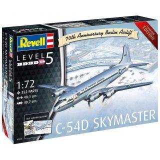 Plastic ModelKit letadlo 03910 - C-54D Skymaster 70th Anniversary Berlin Airlift (1:72)