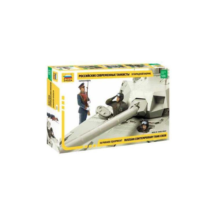 Model Kit figurky 3685 - Russian Contemporary Tank Crew (1:35)