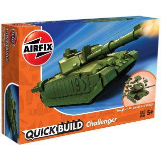 Quick Build tank J6022 - Challenger Tank - zelená