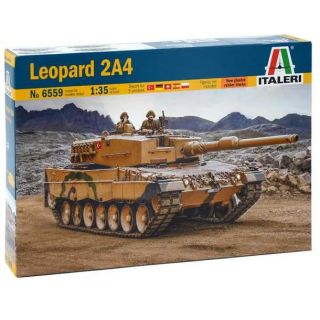 Model Kit tank 6559 - Leopard 2A4 (1:35)