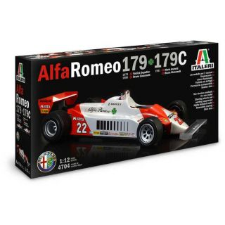 Model Kit auto 4704 - Alfa Romeo 179 - 179C (1:12)