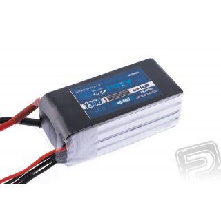 FOXY G3 - Li-Po 1300mAh/14,8V 40/80C 19,24Wh