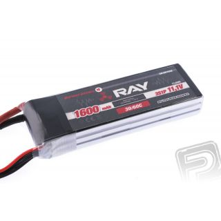 G4 RAY Li-Po 1600mAh/11,1 30/60C Air pack