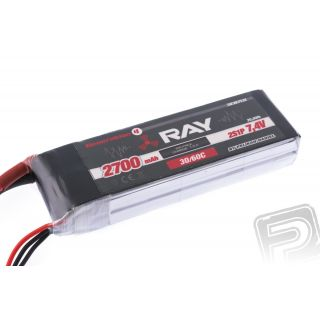 G4 RAY Li-Po 2700mAh/7,4 30/60C Air pack