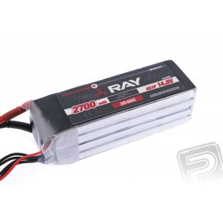 G4 RAY Li-Po 2700mAh/14,8 30/60C Air pack