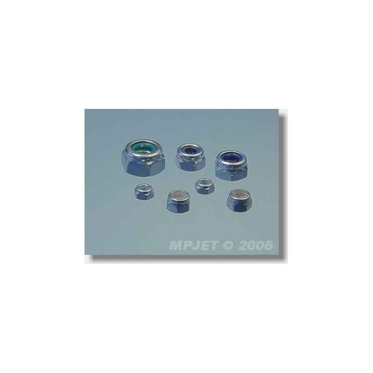 0133 Samojistná matice M3 20 ks