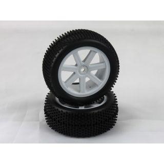 VTEC 1/10 nalepené gumy (2ks.) - S10 TX