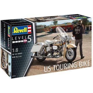 Plastic ModelKit motorka 07937 - US Touring Bike (1:8)