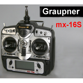 MX-16s Graupner ComputerSystem 35/35B MHz