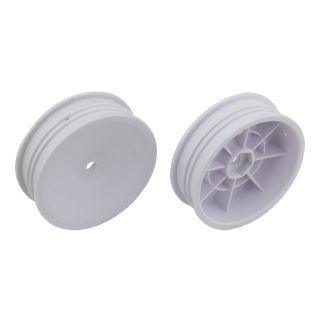 Přední disky 2.2 bílé pro 2WD (HEX 12 mm) - 2 ks