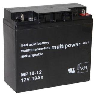 Pb akumulátor MULTIPOWER 12V/18,0Ah