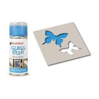 Humbrol sprej na sklo AD7702 - Glass Etch Blue
