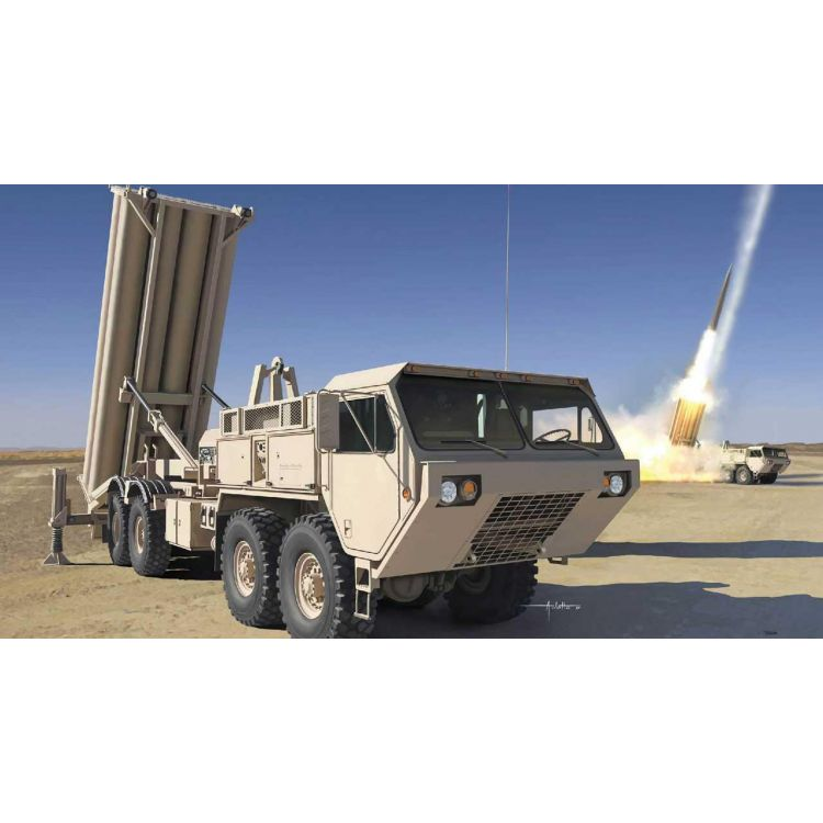 Model Kit military 3605 - M1120 Terminal High Altitude Area Defense Missile Launcher (1:35)