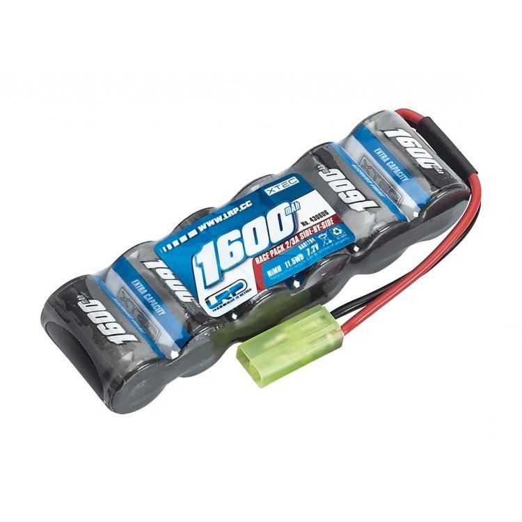 XTEC Race pack Side-by-Side 2/3A NiMH - Mini-Tamiya - 7.2V - 1600mAh