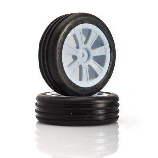VTEC Groove 2WD predné nalepené gumy - 1/10 Buggy J-zmes