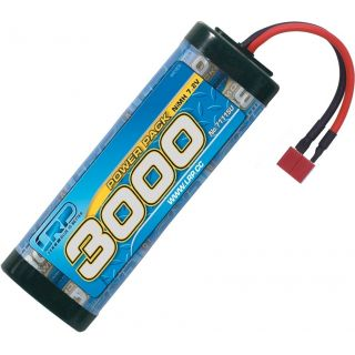 Power Pack 3000 - 7.2V - 6 článkový NiMH Stickpack - US