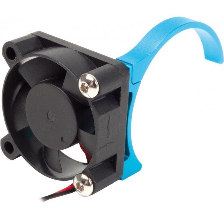 Motor větráček - modrý 30x30mm