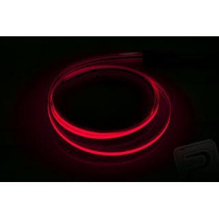 Svietiaca páska 60 cm (šírka 6 mm) červená