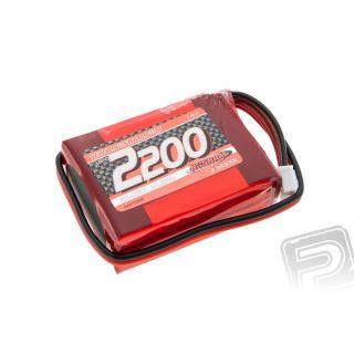 XTEC LiPo RX-sada AAA pyramida 2200mAh - RX- 7.4V