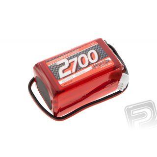 XTEC LiPo RX-Pack 2/3A pyramida 2700mAh - RX-7.4V