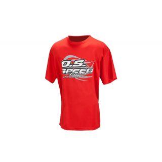 Tričko OS MAX 2015, červené, veľkosť XL