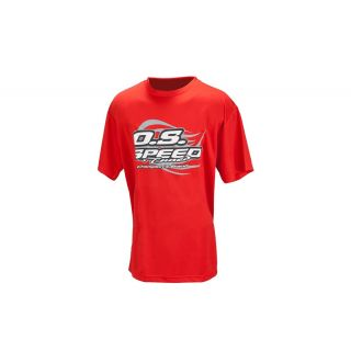 Tričko OS MAX 2015, červené, veľkosť XXL