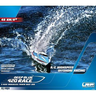 Plagát DEEP BLUE 420 RACE od LRP