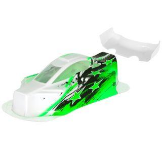 BX10 Bitty design lakovaná lexanová karoserie, zelená
