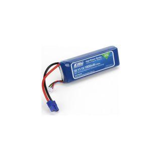 LiPol 11.1V 1800mAh 3čl 30C EC3