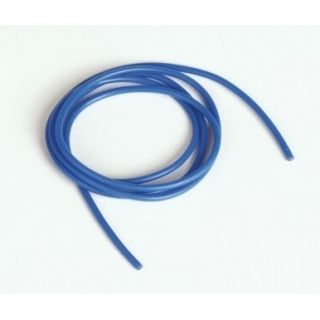 Silikonový kabel 1,0qmm, 17AWG, 1metr, modrý