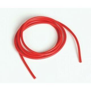 Silikónový kábel 1,6qmm, 15AWG, 1meter, červený