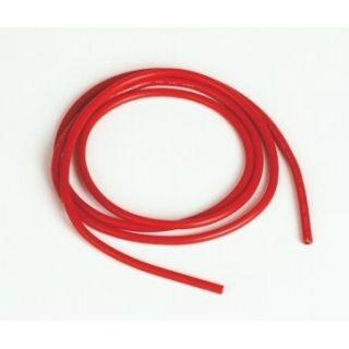 Silikónový kábel 2,0qmm, 14AWG, 1meter, červený