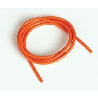 Silikónový kábel 2,0qmm, 14AWG, 1meter, oranžový