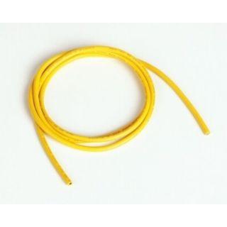 Silikónový kábel 2,0qmm, 14AWG, 1meter, žltý