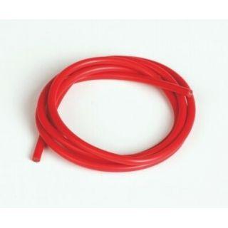 Silikónový kábel 2,6qmm, 13AWG, 1meter, červený