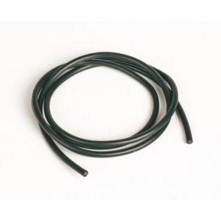 Silikónový kábel 2,6qmm, 13AWG, 1meter, čierny