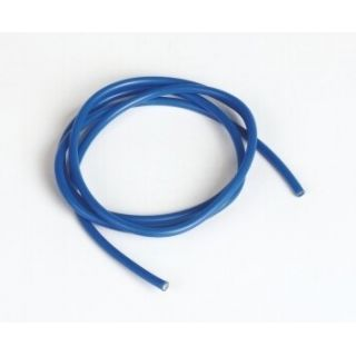Silikonový kabel 3,3qmm, 12AWG, 1metr, modrý