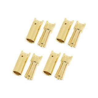 Konektor zlacený 5.5mm (4 páry)