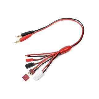 Nabíjecí kabel - JST/FUT-Rx/TAM-M/DNS-M 16AWG